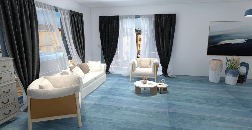 Mediterranean style Interior Design Render