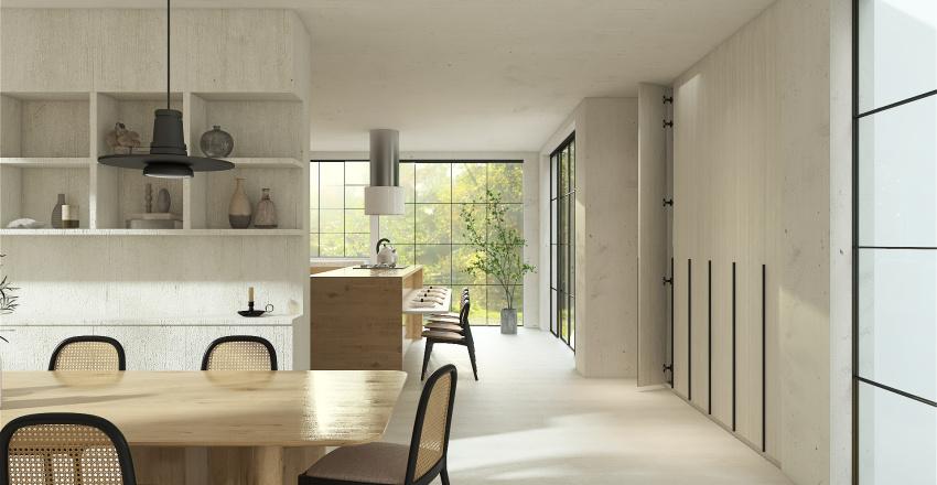 The Slow Living Home Interior Design Render