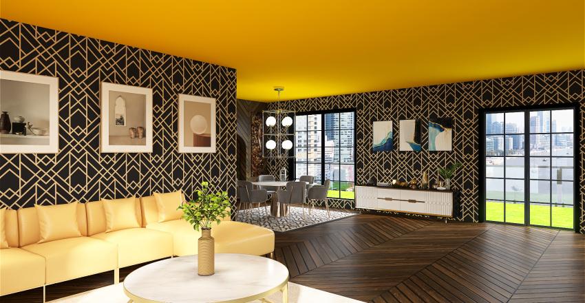 LuxuryArtDecoHome Interior Design Render