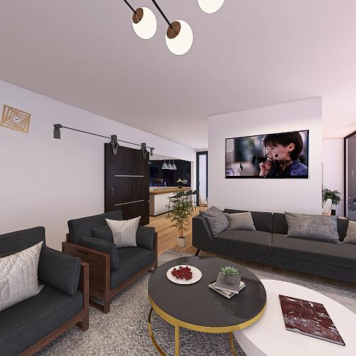 Casa Cabrera Apt. 603 Interior Design Render