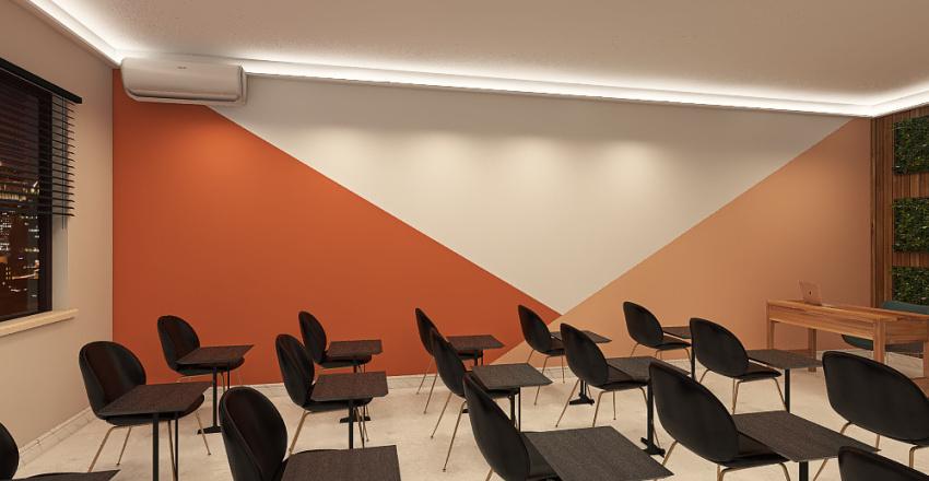 Sala de apresentação 2_copy_copy Interior Design Render