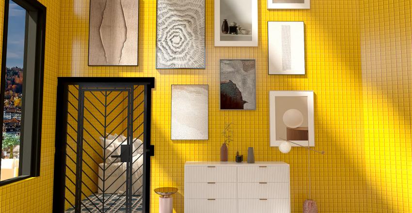 Greek Villa Interior Design Render