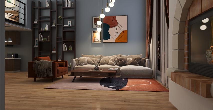 onebedroomapat Interior Design Render