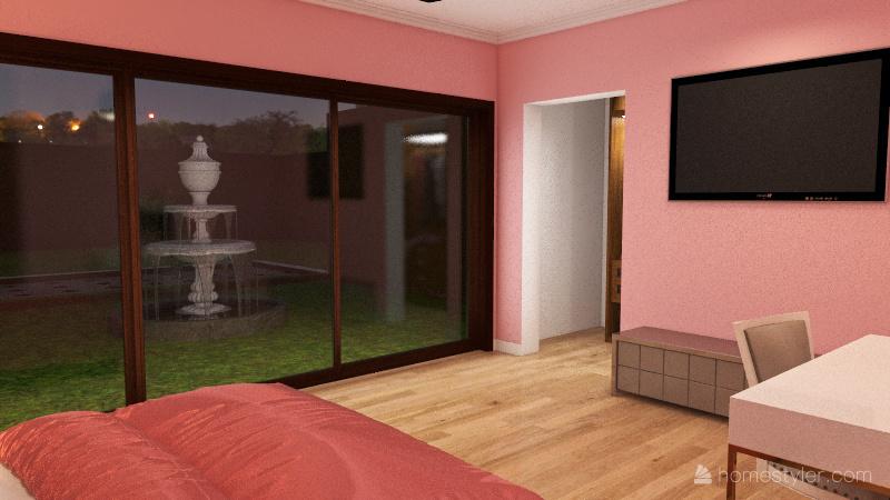 House 4 bedrooms Interior Design Render