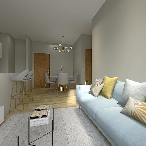 ATIVIDADE 10 - PLANTA LIVRE Interior Design Render