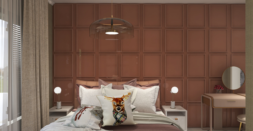 Maxi luxe Interior Design Render