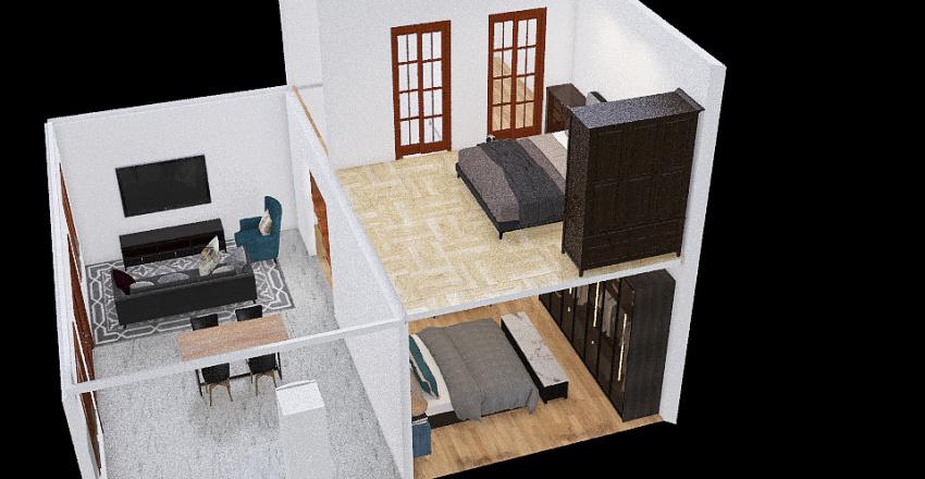 minha  casa Ana Interior Design Render