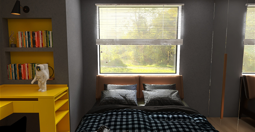 Demi-Suíte Interior Design Render