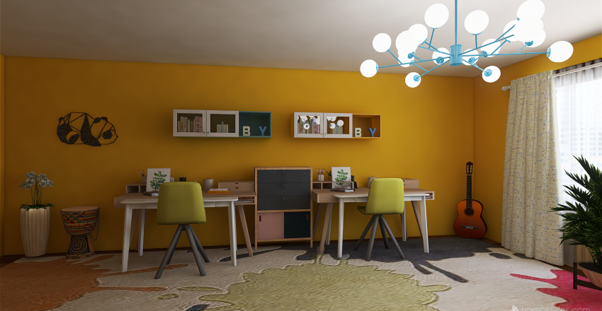 v2_My house modern style Interior Design Render