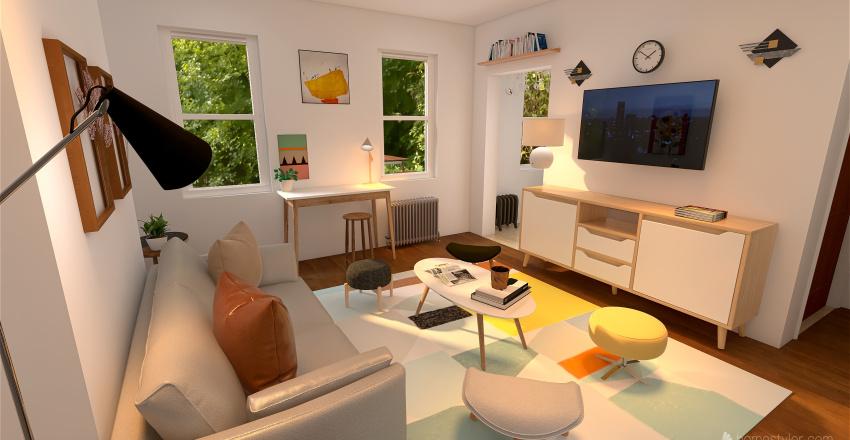 1119 Decatur #2 more ideas Interior Design Render