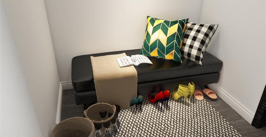 Studio flat Interior Design Render