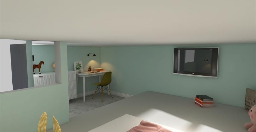Piper's loft Interior Design Render