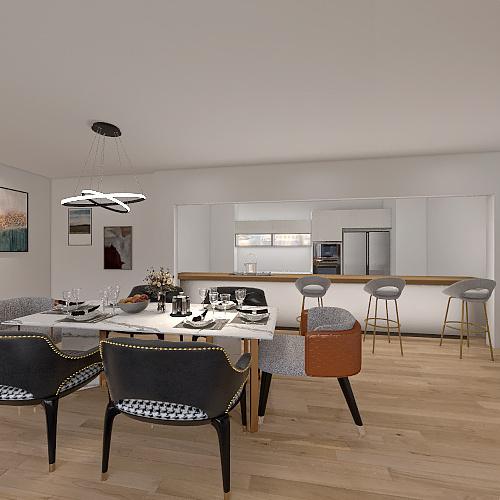 Casa Cabrera Apt. 705 Interior Design Render