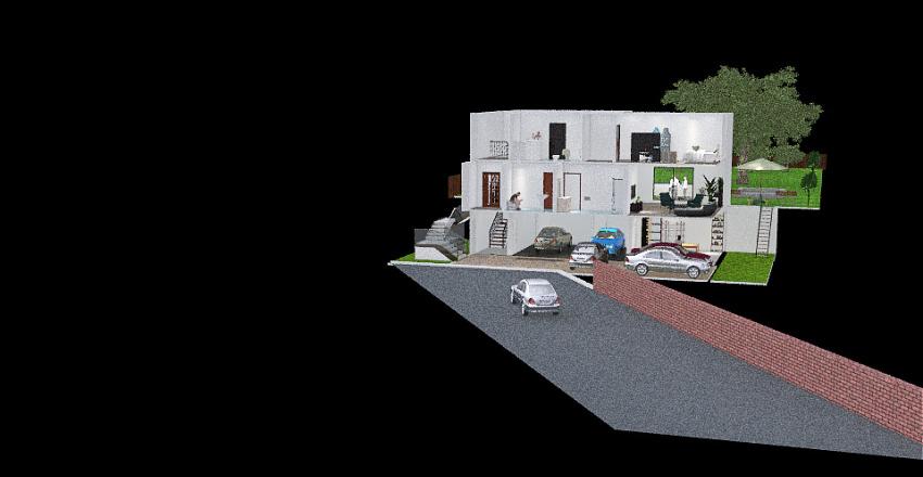 20210607_01 Cerionovi - celý barák (menší) Interior Design Render