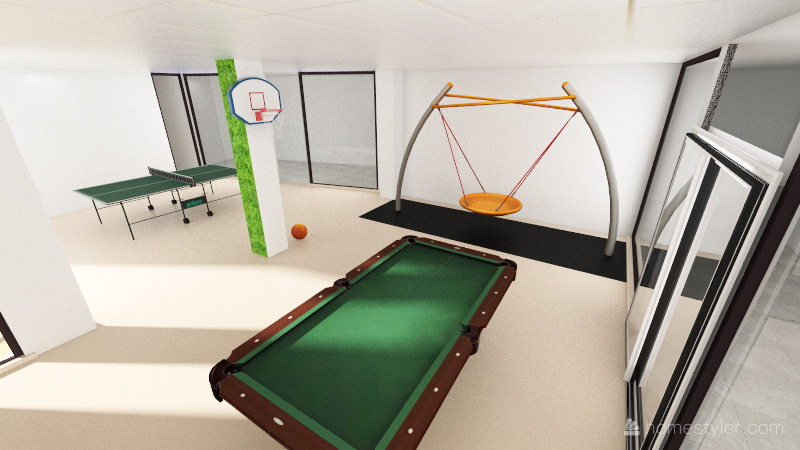 Info Room 3 - leisure Interior Design Render