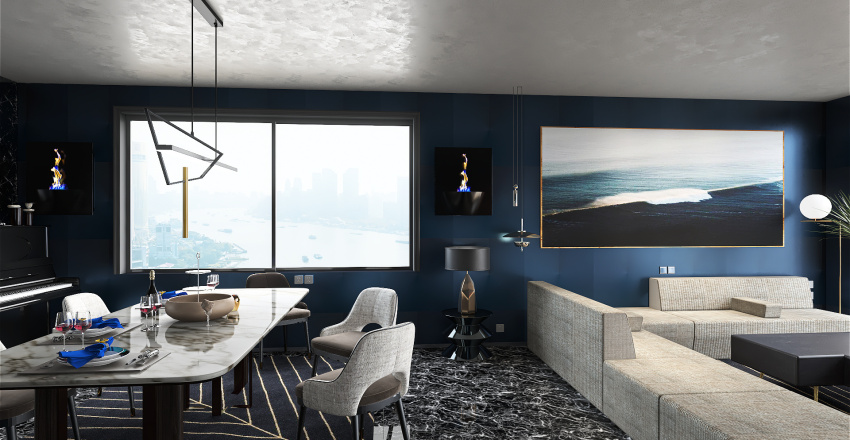 House no10 Interior Design Render