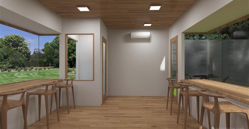 Nhà phố Interior Design Render