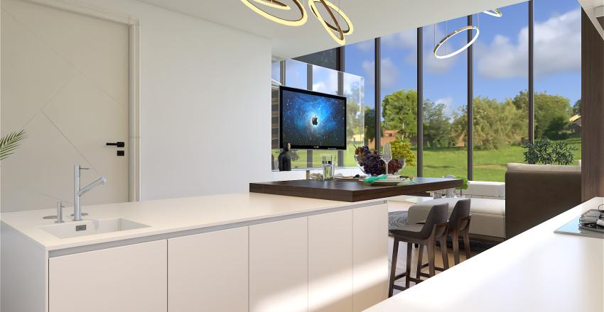 Sweeden Interior Design Render
