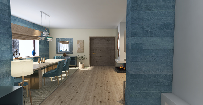 ...if you go down to the woods today Interior Design Render