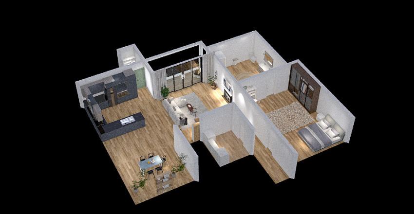 Annika's house Interior Design Render