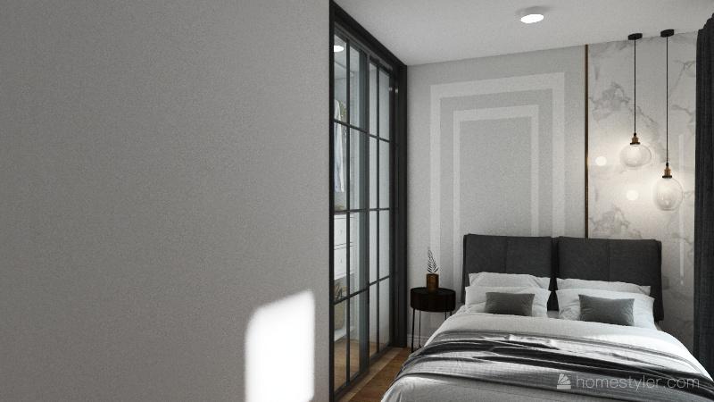 Спальня супругов 1 Interior Design Render