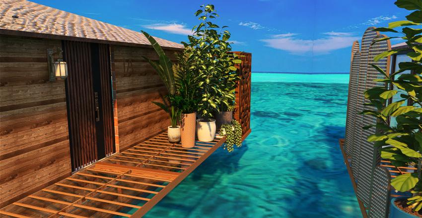 Blue Paradise Interior Design Render
