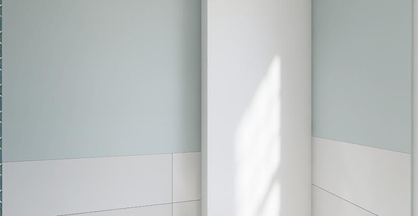 Zalesie - projekt - 2 łazienka Interior Design Render