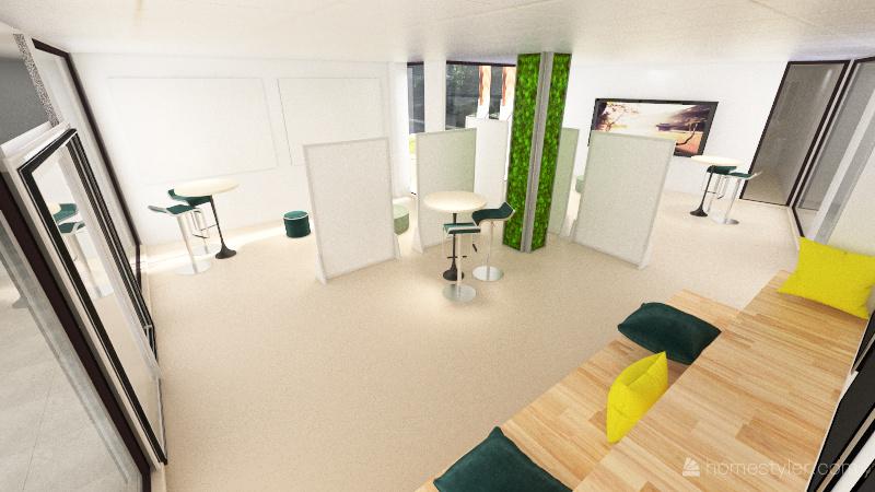 Info Room 1 - brainstorm / work area Interior Design Render