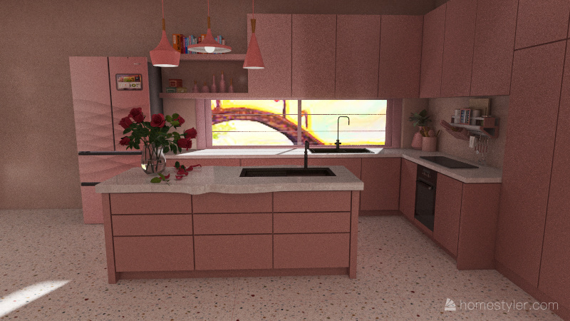 Fairytale Home Interior Design Render