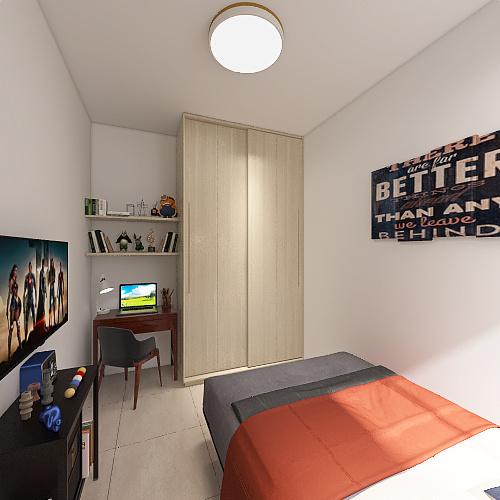 Colibrí NC Interior Design Render