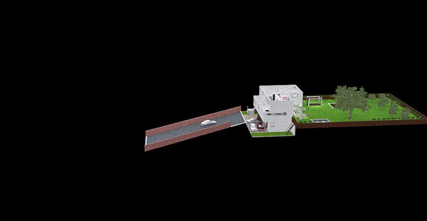 Cerionis - Piano terra versione piccola Interior Design Render