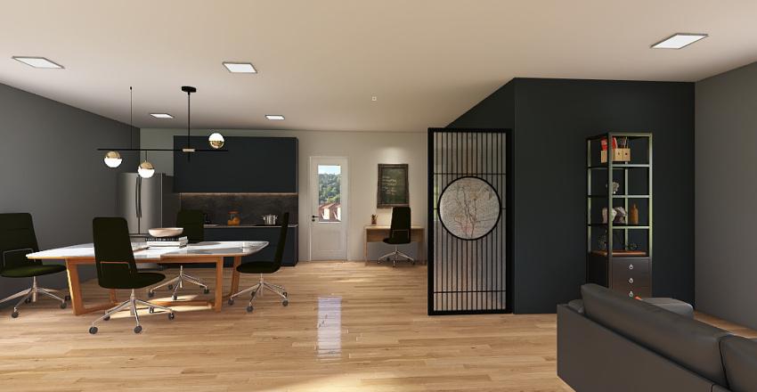 HAYES OFFICE Interior Design Render