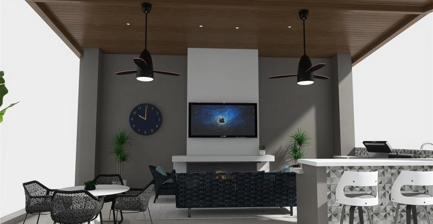 Kwon's Pavilion Interior Design Render