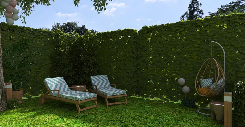 garden party Interior Design Render