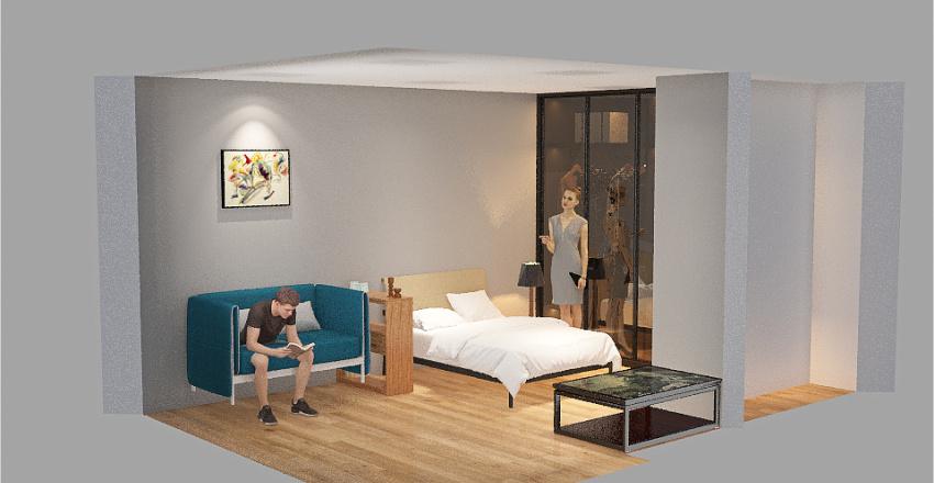 1ROOMFLAT - 2 Interior Design Render