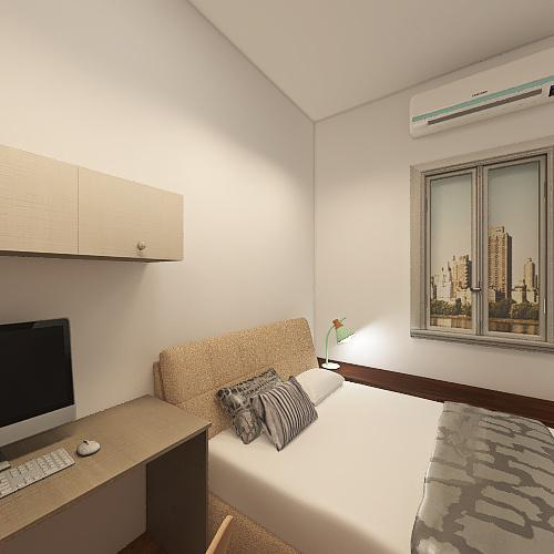 v2_W&J Home(兩房型) Interior Design Render