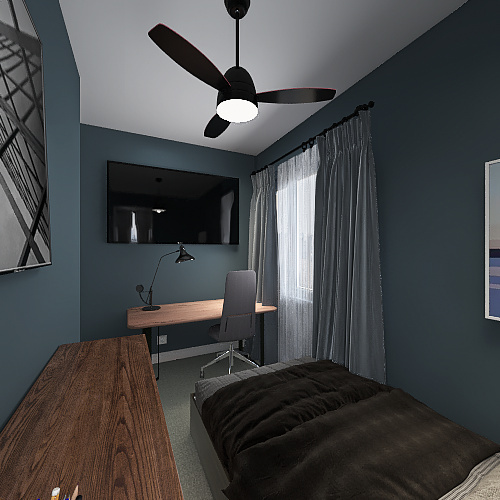 Anallely Castorena Shipping Container Project Interior Design Render