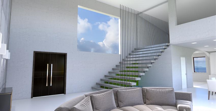 Escalera Interior Design Render