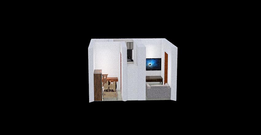 Copy of My living space Interior Design Render