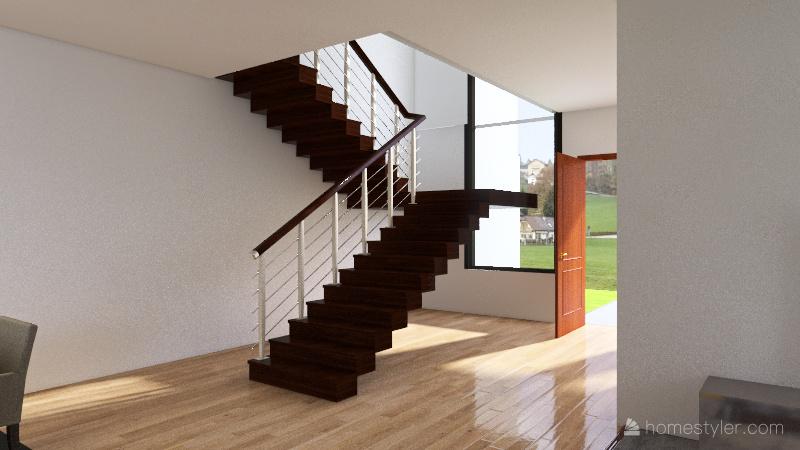 Casa Mari Interior Design Render