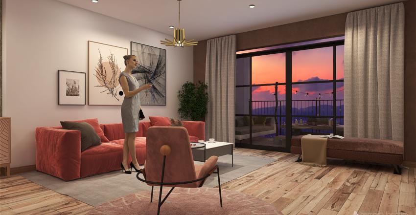 🌎 DEPA VANESSA Interior Design Render