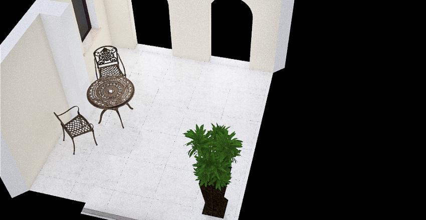 Entrada Puerta Principal Interior Design Render