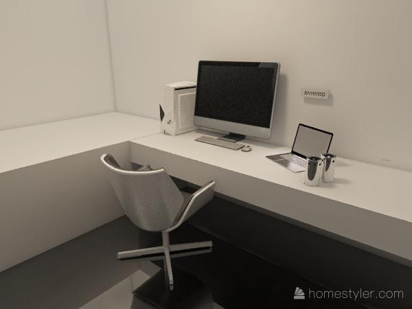 Natural apartment Interior Design Render