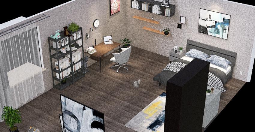 Copy of Retro Industrial Interior Design Render