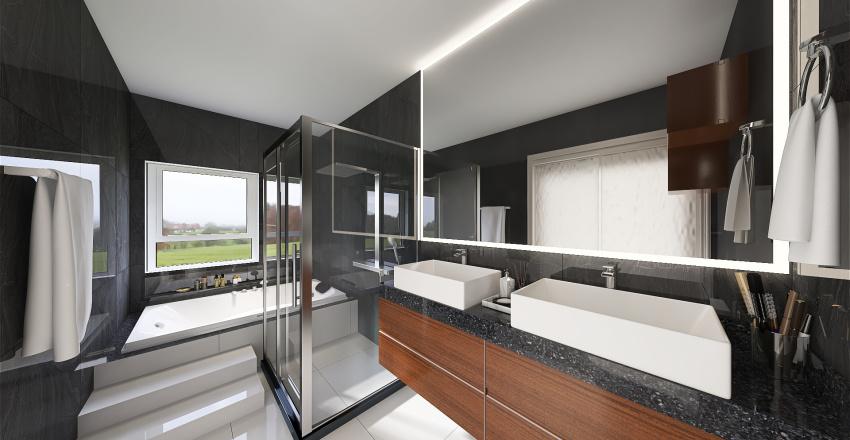 Banheiro Interior Design Render
