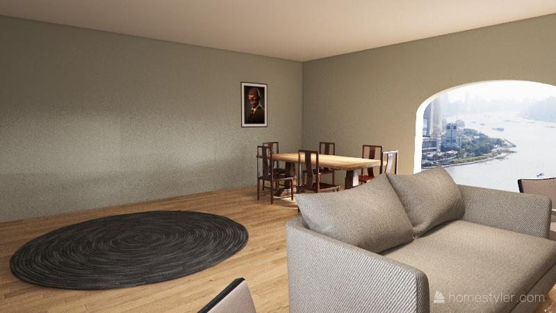 grand room Interior Design Render