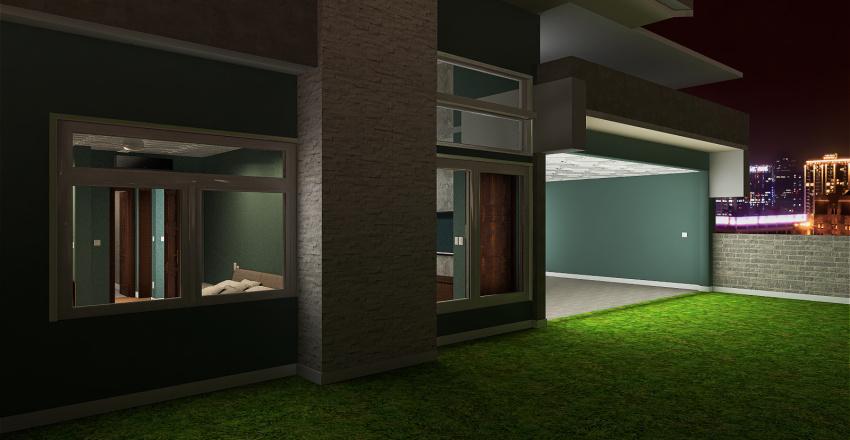Projeto Casa Fachada V1 Interior Design Render