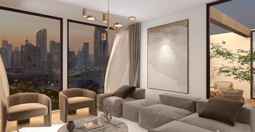 apartamento luxuoso  Interior Design Render