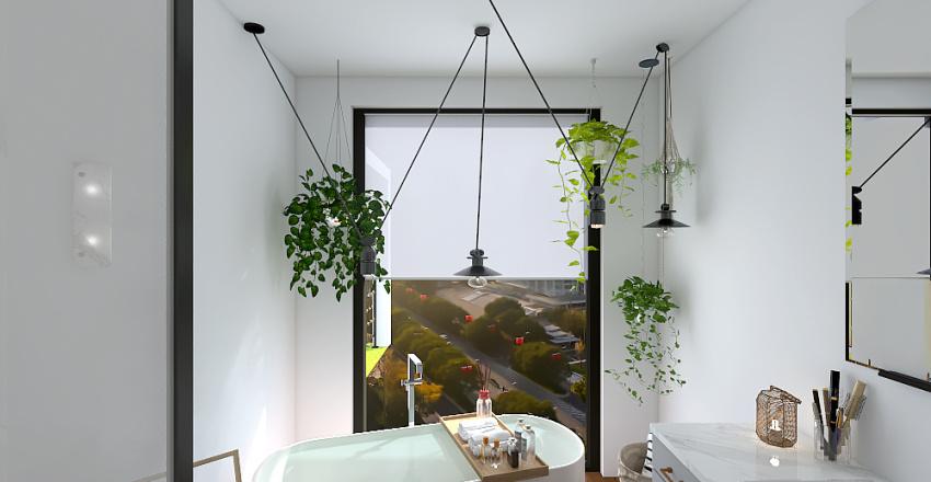 City Studio/Loft Interior Design Render