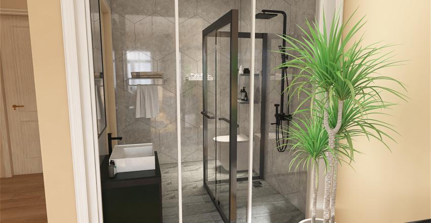 Garni Hotel Nota Interior Design Render